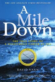 Book Cover for A MILE DOWN