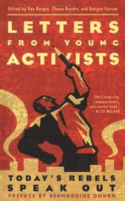 Book Cover for LETTERS FROM YOUNG ACTIVISTS