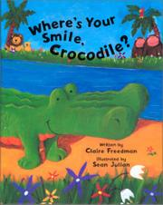 Cover art for WHERE'S YOUR SMILE, CROCODILE?