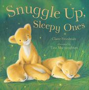 Book Cover for SNUGGLE UP, SLEEPY ONES