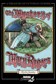 Cover art for THE MYSTERY OF MARY ROGERS