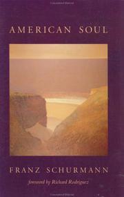 AMERICAN SOUL by Franz Schurmann