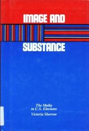 Cover art for IMAGE AND SUBSTANCE