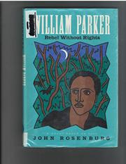 WILLIAM PARKER by John Rosenburg