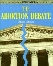THE ABORTION DEBATE by Claudia M. Caruana
