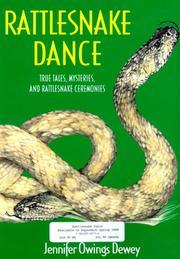 RATTLESNAKE DANCE by Jennifer Owings Dewey