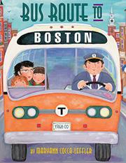 BUS ROUTE TO BOSTON by Maryann Cocca-Leffler