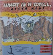 WHAT IS A WALL, AFTER ALL? by Judy Allen