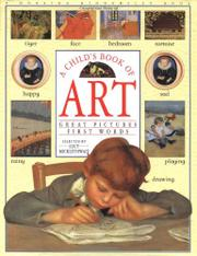 Cover art for A CHILD'S BOOK OF ART