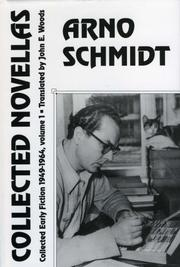 COLLECTED NOVELLAS by Arno Schmidt