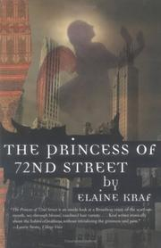 THE PRINCESS OF 72ND STREET by Elaine Kraf