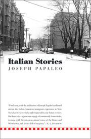ITALIAN STORIES by Joseph Papaleo