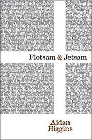 FLOTSAM AND JETSAM by Aidan Higgins