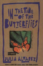 Cover art for IN THE TIME OF THE BUTTERFLIES