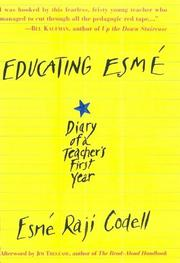 EDUCATING ESMê by Esmé Raji Codell