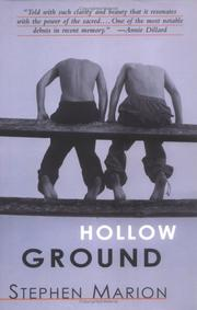 HOLLOW GROUND by Stephen Marion