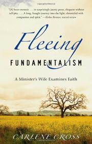 FLEEING FUNDAMENTALISM by Carlene Cross