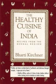 THE HEALTHY CUISINE OF INDIA by Bharti Kirchner