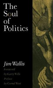THE SOUL OF POLITICS by Jim Wallis