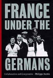 Book Cover for FRANCE UNDER THE GERMANS