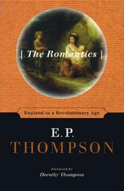 THE ROMANTICS by E.P. Thompson