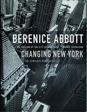Cover art for BERENICE ABBOTT: CHANGING NEW YORK