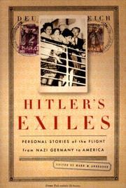 HITLER'S EXILES by Mark M. Anderson