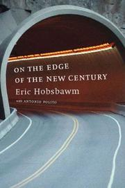 ON THE EDGE OF THE NEW CENTURY by Eric Hobsbawm