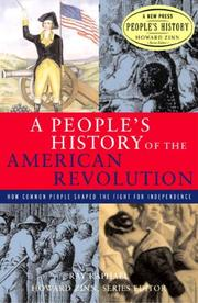 Cover art for A PEOPLE'S HISTORY OF THE AMERICAN REVOLUTION