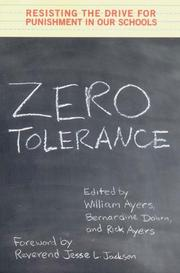 ZERO TOLERANCE by William Ayers