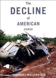Cover art for THE DECLINE OF AMERICAN POWER