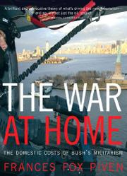 Cover art for THE WAR AT HOME
