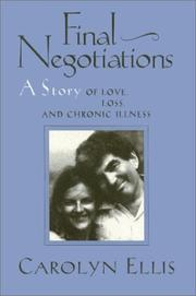 FINAL NEGOTIATIONS by Carolyn Ellis