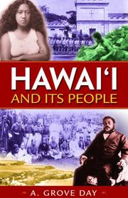 HAWAII AND ITS PEOPLE by A. Grove Day