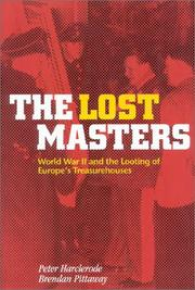 THE LOST MASTERS by Peter Harclerode