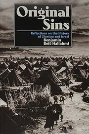 ORIGINAL SINS by Benjamin Beit-Hallahmi