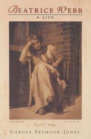 BEATRICE WEBB by Carole Seymour-Jones
