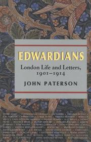 Book Cover for EDWARDIANS