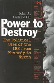 POWER TO DESTROY by III Andrew