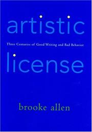 ARTISTIC LICENSE by Brooke Allen