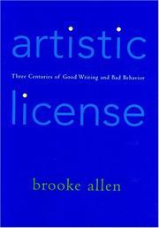 ARTISTIC LICENSE by Brooke Allen