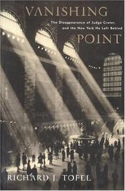 VANISHING POINT by Richard J. Tofel