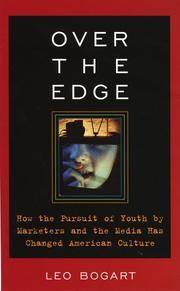 OVER THE EDGE by Leo Bogart
