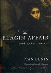 THE ELAGIN AFFAIR by Ivan Bunin