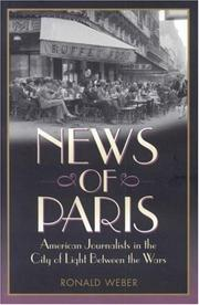 Cover art for NEWS OF PARIS