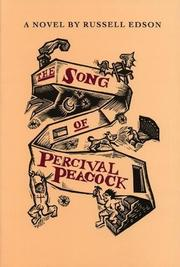 THE SONG OF PERCIVAL PEACOCK by Russell Edson