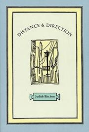 Cover art for DISTANCE AND DIRECTION