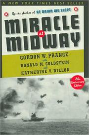 MIRACLE AT MIDWAY by Gordon W. with Donald M. Goldstein & Katherine V. Dillon Prange