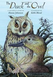THE DUCK AND THE OWL by Hanna Johansen