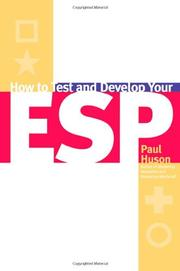 HOW TO TEST AND DEVELOP YOUR ESP by Paul Huson